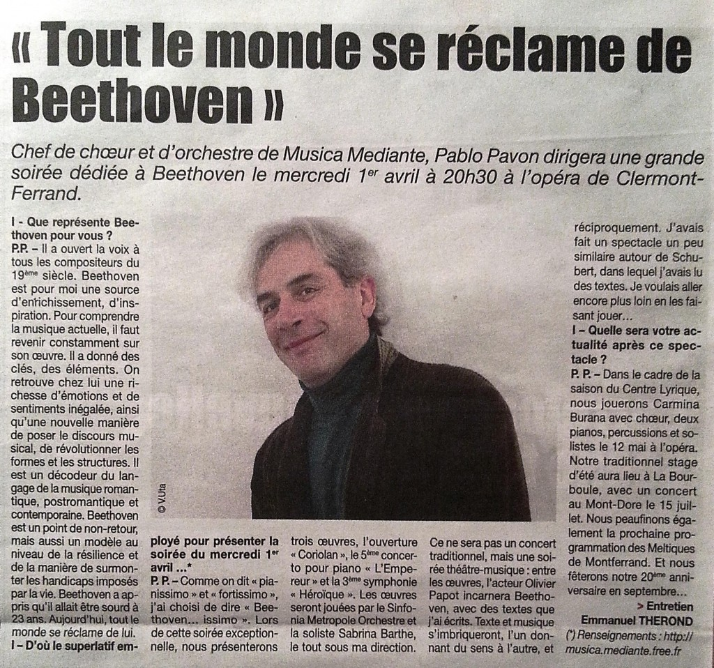 Article INFO Beethoven...issimo