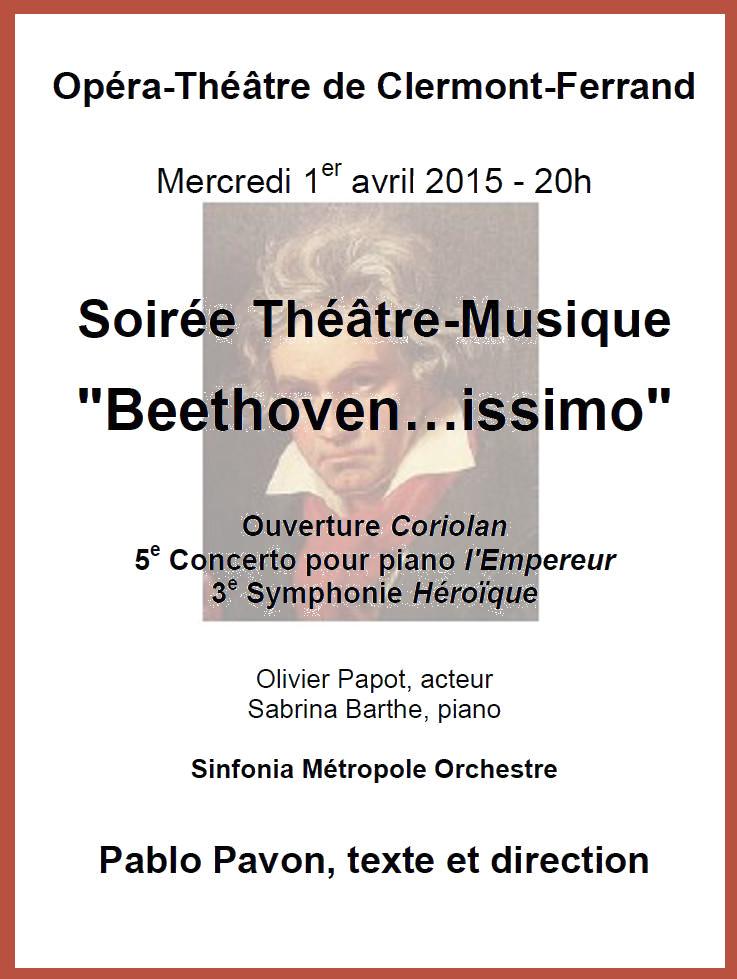 Beethovenissimo Affiche
